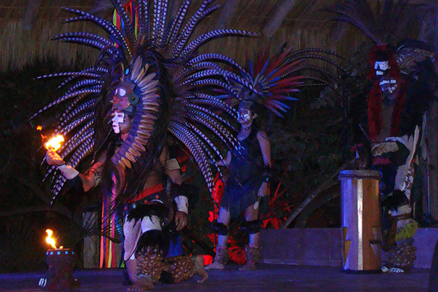 Huichol Dance During Azamara's AzAmazing Evenings